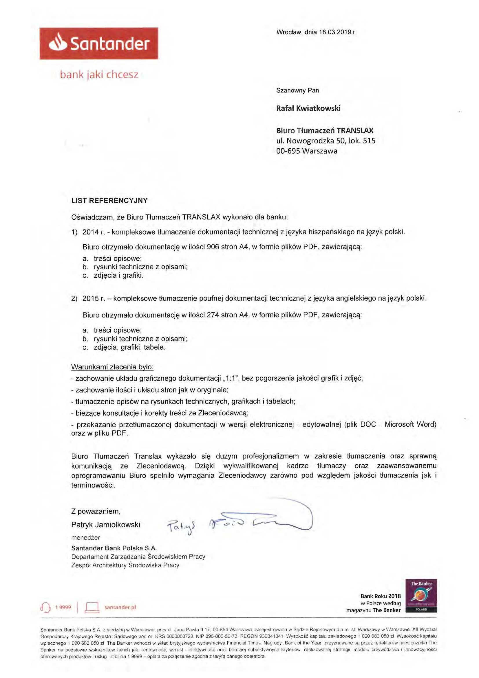 Referencje 2019 Strona 08 - Referencje